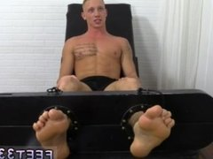 Gay sex young boy feet video xxx Cristian Tickled In The Tickle Chair