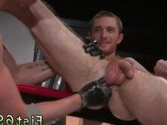 Gay butt fist Seamus O'Reilly waits - booty up as Matt Wylde dick-slaps
