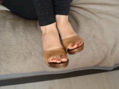 Boots, feet, soles