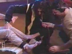 Brande Roderick In Howard Stern's Tickle Chair