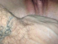 Wife getting fucked again. Pussy is good.