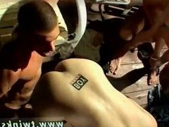 Young gay twink boys in jeans cumming Kayden and Krist get their twink