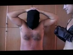 Belly Punching Blindfolded (Stomach Demolition)