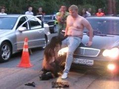 Car Show Crazy Stripper