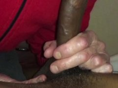 Young BBC serviced by white old man