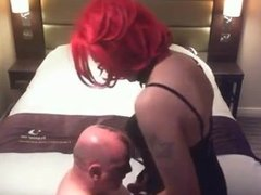 Dirty Old Man Tiny's First Time Sucking Cock