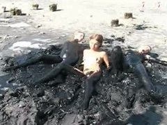 mud paint nudist