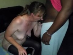 Black dick party for my wife Nicole 45