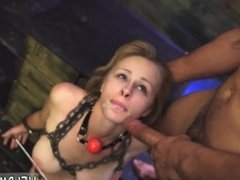Bdsm gangbang dp police and ebony bbc rough and bondage vib orgasm and