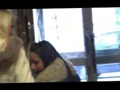 buttplug fur jacket lesbian