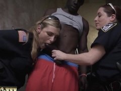 Brunette cop and busty brunette milf anal interracial and white girl