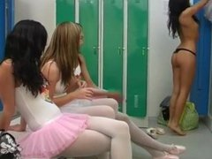 Sex with customers and teen alia and amateur teen lesbian strap on and