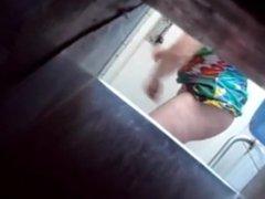 wc loira se masturbando