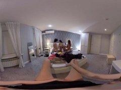 VR Porn Girls only orgy in POV  Virtual Porn 360