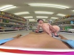 SexLikeReal VR- Fucking my Japanese Gf in the Supermarket 180