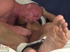 NBB-Dom Ginger Bubba Ryder Punches Chokes & CBT Muscle Stud Leo James