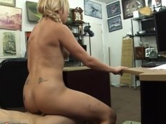 Public agent hallowen and tattoed amateur threesome and muscle woman
