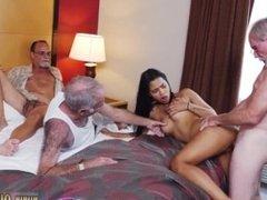 Old man kissing girls and big tit old milf masturbation hd and old