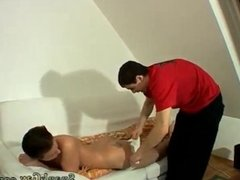 Boy gets spanked by bodybuilder and boys get spanked for peeing there
