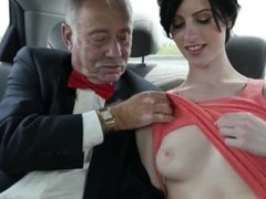 Big tit lesbian strap on old and old granny fucks grandson and ebony and