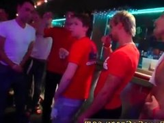 Sex party movie and guy cumming party and gay group filled guy ass with