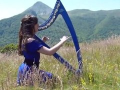 The Lord of the Rings & The Hobbit - Medley - harp _ harpe _ چنگ _