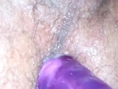 Self Anal Fucking with Dildo