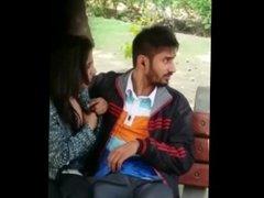 Punjabi couple in Park