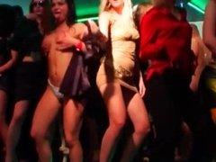 Bi-sexual pornstar cuties fucking in public