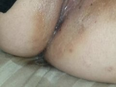 My girl playing and squirting