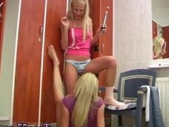 Teen bbc domination compilation and lesbian stand up fuck and blonde