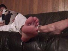 serbian goddess Laura long toes