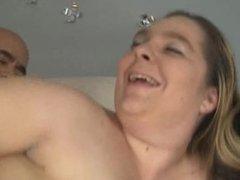 April Mackenzie Gets Jizz On Her Tits