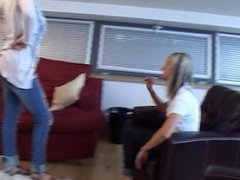 Demi & Emma play Strip Tickle