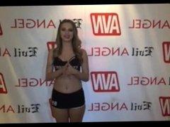 Jillian Janson w/ Jiggy Jaguar AVN Expo Las Vegas NV 2017