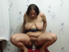 mature aunt slipped over on the bottle