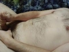 Very first video - jerking off to two orgasms