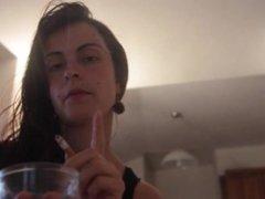 Antonia (Miss Italia) Smoking - Archive 3, Part 2