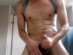 Super Horny Asian Shoots Continuous Jets of Cum