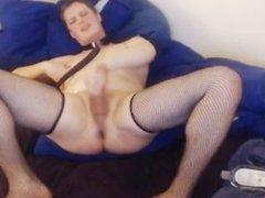 cute and kinky sissy cam slave masturbation