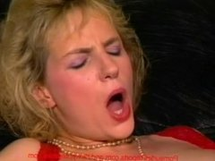 Hairy MILF Blows A Younger Guy