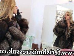 Chloe Toy fur smoking (JS)