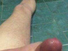 Large wet penis