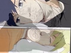 NARUTO X SAUSKE HOT YAOI ACTION, WITH GUEST APPERANCE FROM SHREK