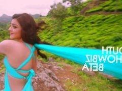 tamil actress kajal hot armpit navel show