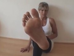 Fitness Instructor Sexy Soles