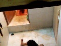 Housewife bathing 1