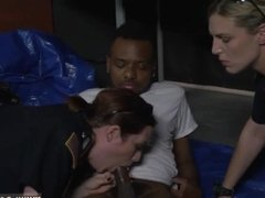 Big tit cop threesome and short hair wife bbc and lucky guy milf and