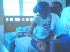 Skipping school Young Teen couple Bf kissing young busty ebony titties