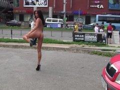 Michaela - ALS Nude in Public